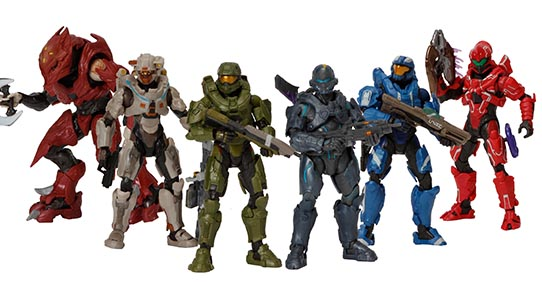 "Halo 6"" Action Figures"