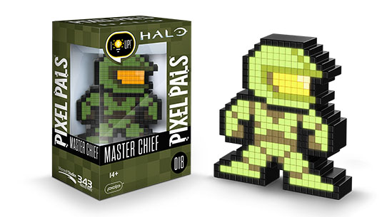 Pixel Pals Master Chief Figure
