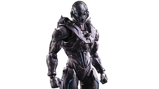 Halo 5: Guardians Spartan Locke Play Arts Kai Figure
