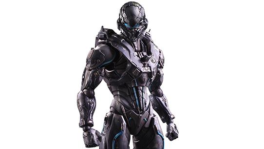 Halo 5: Guardians Spartan Locke Play Arts Kai Figure