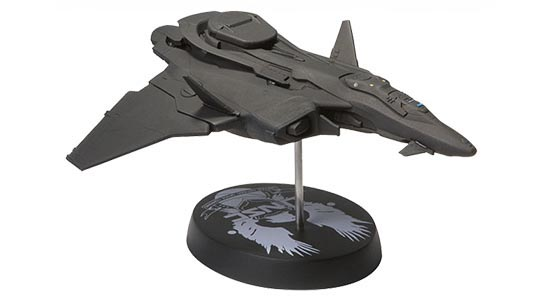 UNSC Prowler Ship Replica